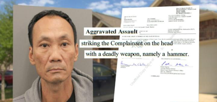 可恨!德州亚裔男子用锤子殴打妻子 预防家暴tips