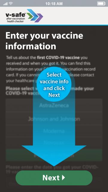 接种疫苗后的你在 CDC 注册 V-safe了吗?