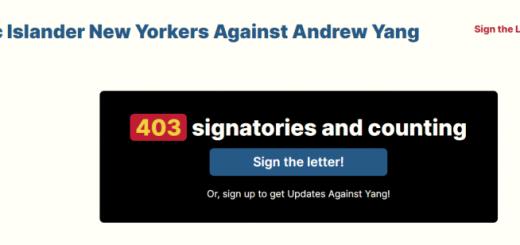 """""""窝里反""""纽约进步派亚裔联名反对杨安泽,列8大罪状:挺警、反黑人、不支持平权……"""