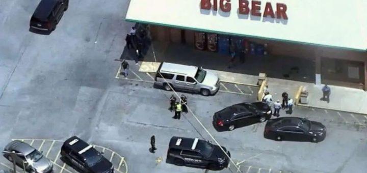 人性沦丧! 只因一个口罩 超市收银遭爆头身亡 枪手疯狂开枪 多人受伤!