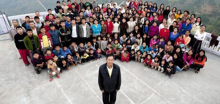 """娶39个妻子,生89个子女,这个76岁男人,简直一己之力造了一个""""村子""""..."""