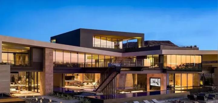 华裔富豪砸2500万美金赌城买豪宅,刷新当地房产销售记录!