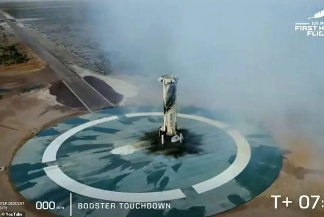 刚刚! 首富贝佐斯坐自家飞船上太空 每分钟.5亿 创造多项人类历史!