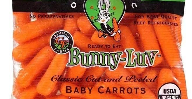 恐携带沙门氏菌 多种袋装胡萝卜产品被召回