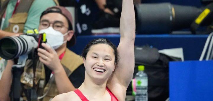 感动!华裔姑娘玛姬获得奥运冠军!--我来自一个有爱的领养家庭