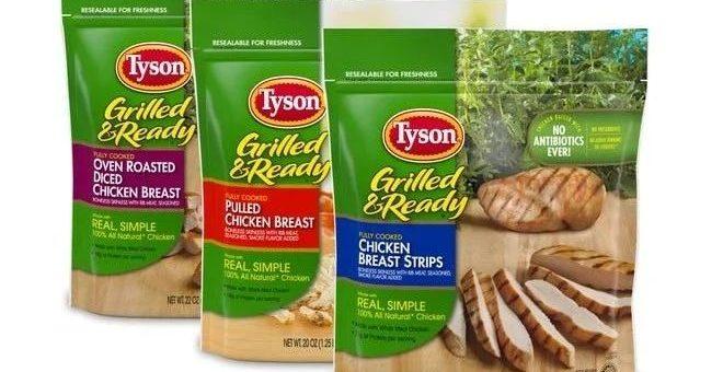 全国超市都有卖!泰森召回850万磅鸡肉,或感染李斯特菌