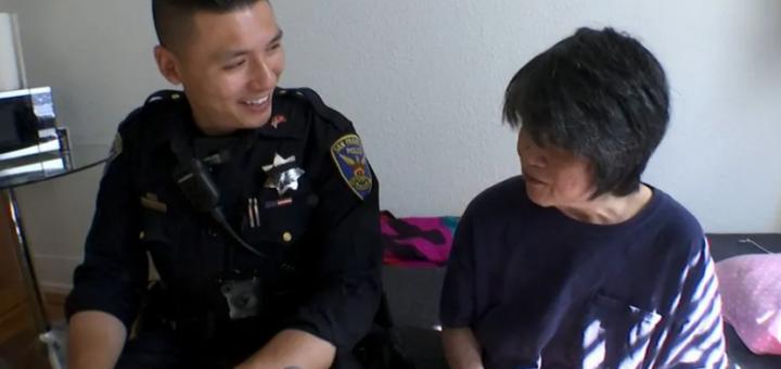 心酸!旧金山六旬华妇被家人抛弃,幸得警方暖心安置!