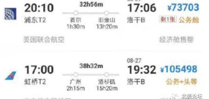 涨疯了!中国赴美一张机票10万,签证开放机场千米长队来美!