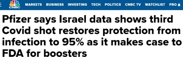 突发! 以色列第3针数据出来了 感染率狂降11倍! 偷偷抢打的华人乐坏了!