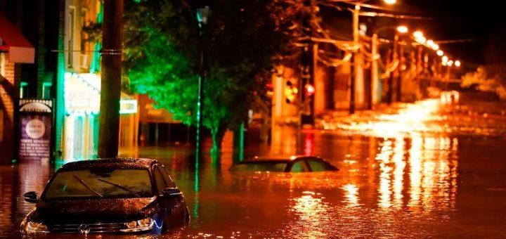 艾达横扫东北部 纽约新泽西27人死亡 民宅地下室淹没 民众弃车逃走