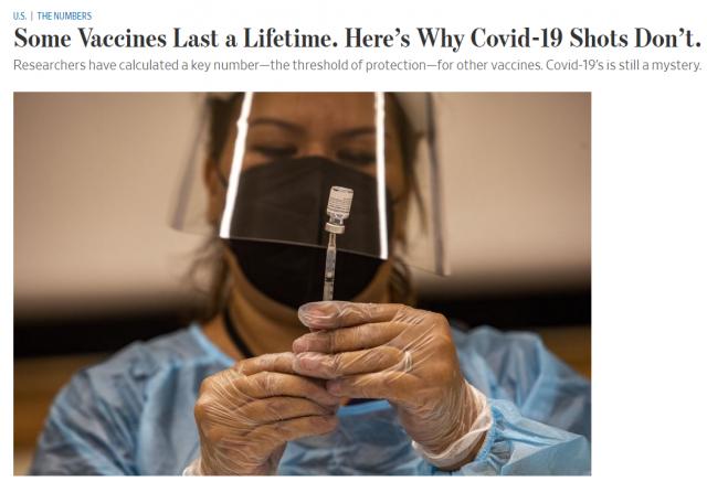 新冠疫苗无法终生免疫 专家揭露3个关键点! 全球首个新冠口服药物或很快获批…