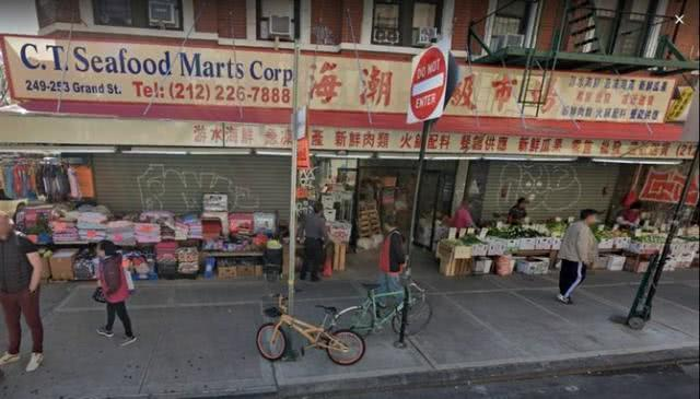 美国唐人街海鲜市场中国雇员劝说顾客戴口罩,与其发生冲突竟被捕